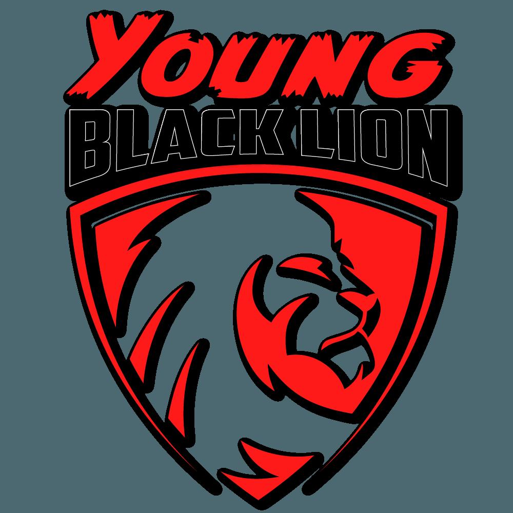 Young Black Lion Logo Linir Mizrahi Trainer Krav Maga Selbstverteidigung Fitness